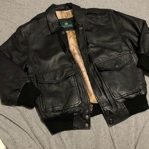Thrifted Leather Jacket